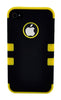 iPhone 4/4S Heavy Duty Front/Back Yellow Stripe