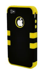 iPhone 5/5S Heavy Duty Front/Back Yellow Stripe