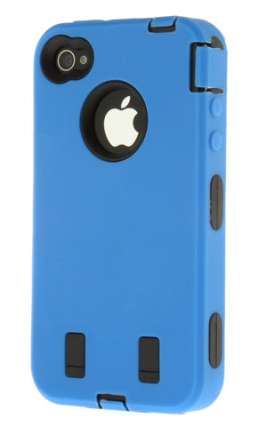 iPhone 5/5S Heavy Duty Front/Back Blue