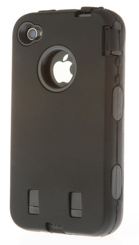 iPhone 5C Heavy Duty Front/Back Black
