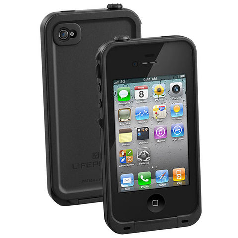 iPhone 4/4S Lifeproof Case Black
