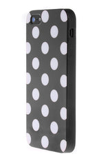 iPhone 5C Polka Dot Black and White