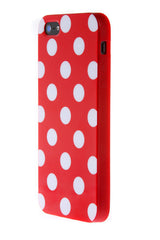 iPhone 6 Plus Polka Dot Red and White