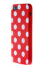 iPhone 5C Polka Dot Red and White