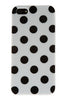 iPhone 5C Polka Dot White and Black