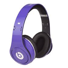 Beats By Dre Studio Headphones Purple