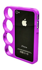 iPhone 4/4S Chrome Ring Purple