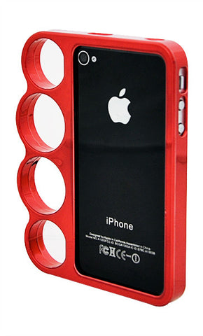 iPhone 5/5S Chrome Ring Red