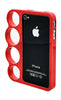 iPhone 4/4S Chrome Ring Red