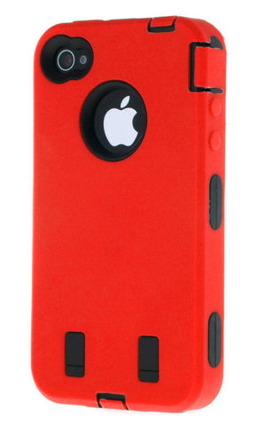 iPhone 6 Plus Heavy Duty Front/Back Red