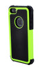 iPhone 5C Shockproof Green and Black