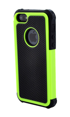 iPhone 4/4S Shockproof Green and Black