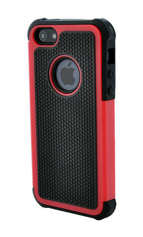 iPhone 5/5S Shockproof Red and Black