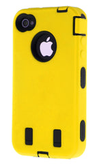 iPhone 4/4S Heavy Duty Front/Back Yellow