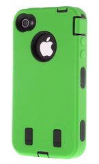 iPhone 4/4S Heavy Duty Front/Back Green
