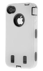 iPhone 4/4S Heavy Duty Front/Back White