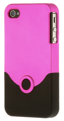 iPhone 4/4S Plastic Pink and Black
