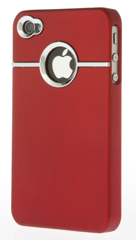 iPhone 4/4S Chrome Red
