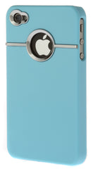 iPhone 4/4S Chrome Light Blue