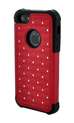 iPhone 5/5S Armor Red Diamond