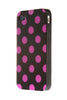 iPhone 5/5S Polka Dot Black and Pink