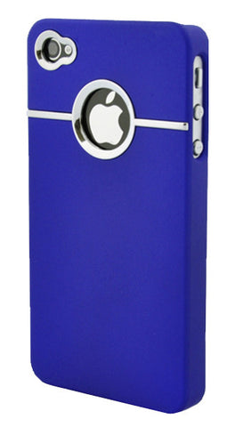 iPhone 4/4S Chrome Dark Blue