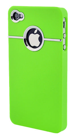 iPhone 4/4S Chrome Lime Green