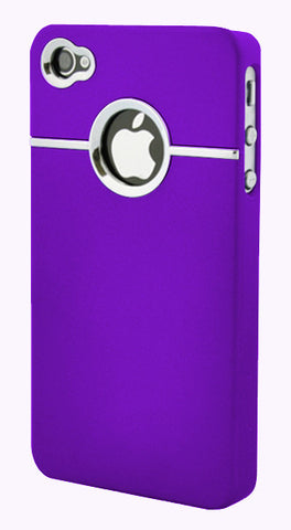 iPhone 4/4S Chrome Purple