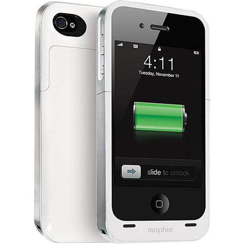 iPhone 4/4S Mophie Juice Pack Air Battery Case White