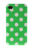 iPhone 5/5S Polka Dot Green and White