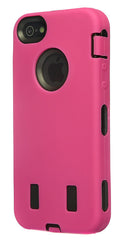 iPhone 4/4S Heavy Duty Front/Back Hot Pink
