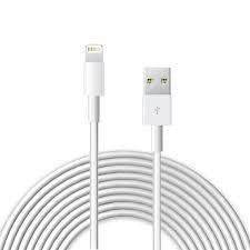 Apple Certified iPhone 5/5S/5C/6 Lightning to USB Cable 10 Feet
