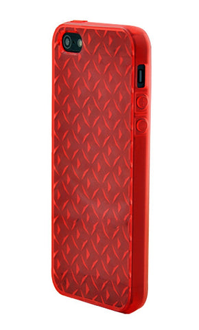 iPhone 5/5S Diamond Shape Rubber Orange
