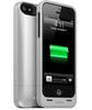 iPhone 5/5S Mophie Juice Pack Helium Battery Case Silver