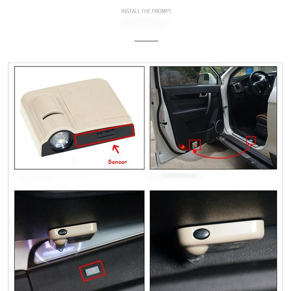 Car Projection Lamp
