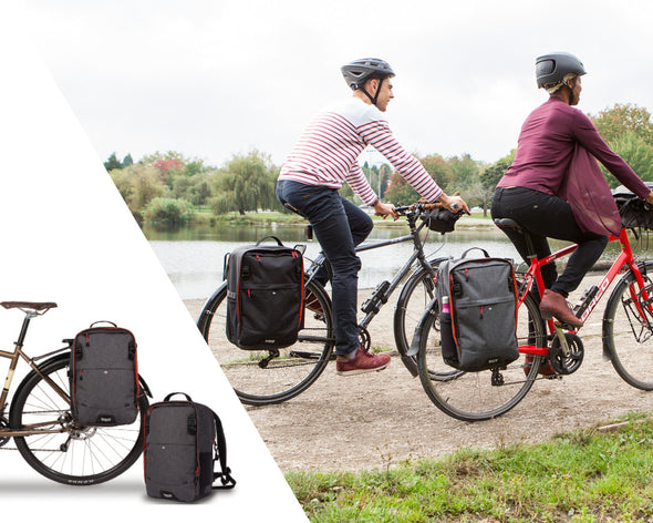 Two Wheel Gear - Pannier Backpack Convertible - Bike Bag