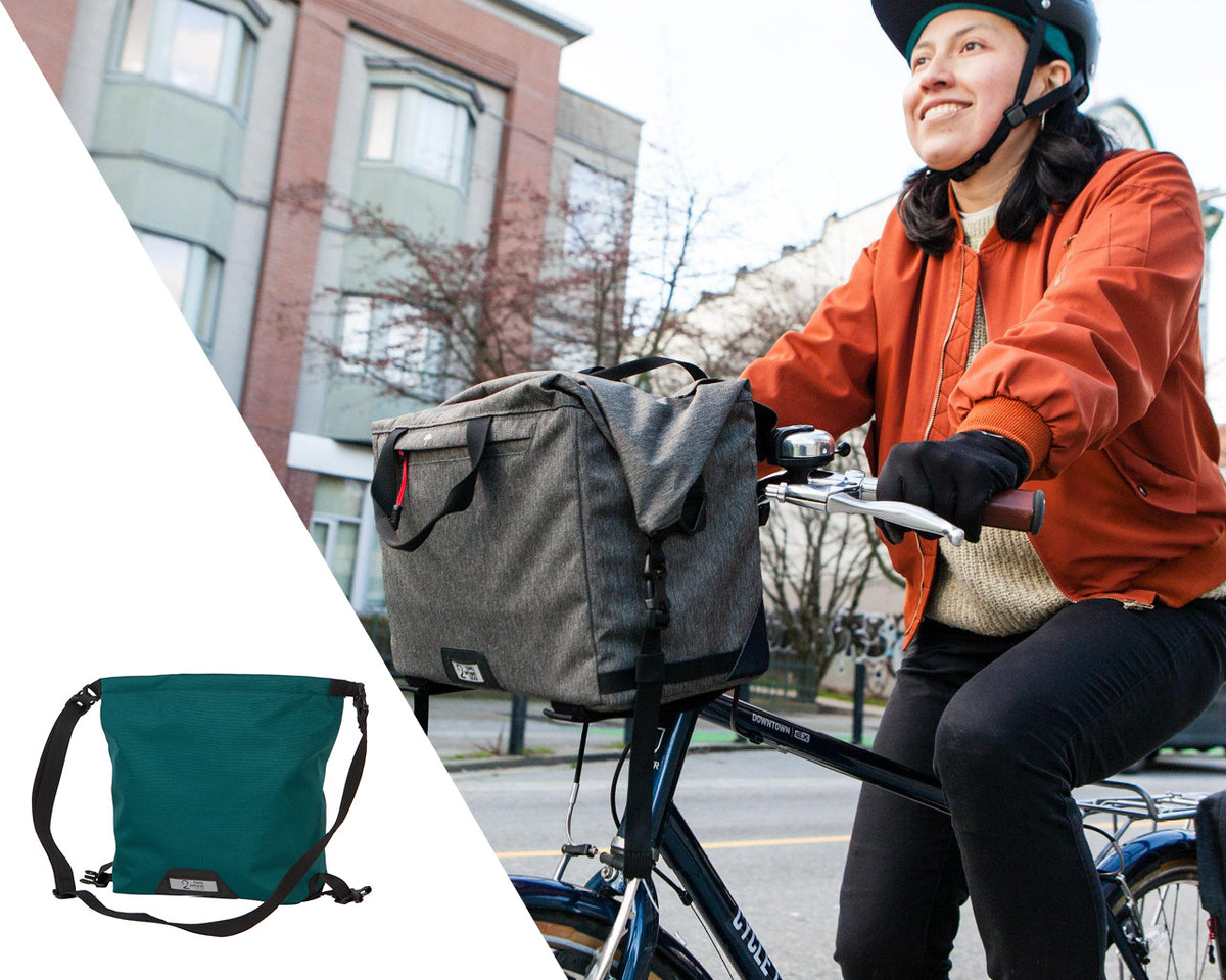 Two Wheel Gear - Handlebar Messenger Bag on Bike