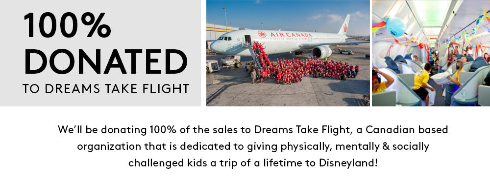 Donated to Dreams Take Flight
