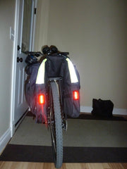 Two Wheel Gear - Classic 1.0 Garment Pannier - Rear Lights