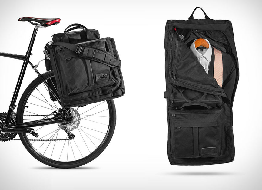 Garment Panniers Made for Bike Commuters