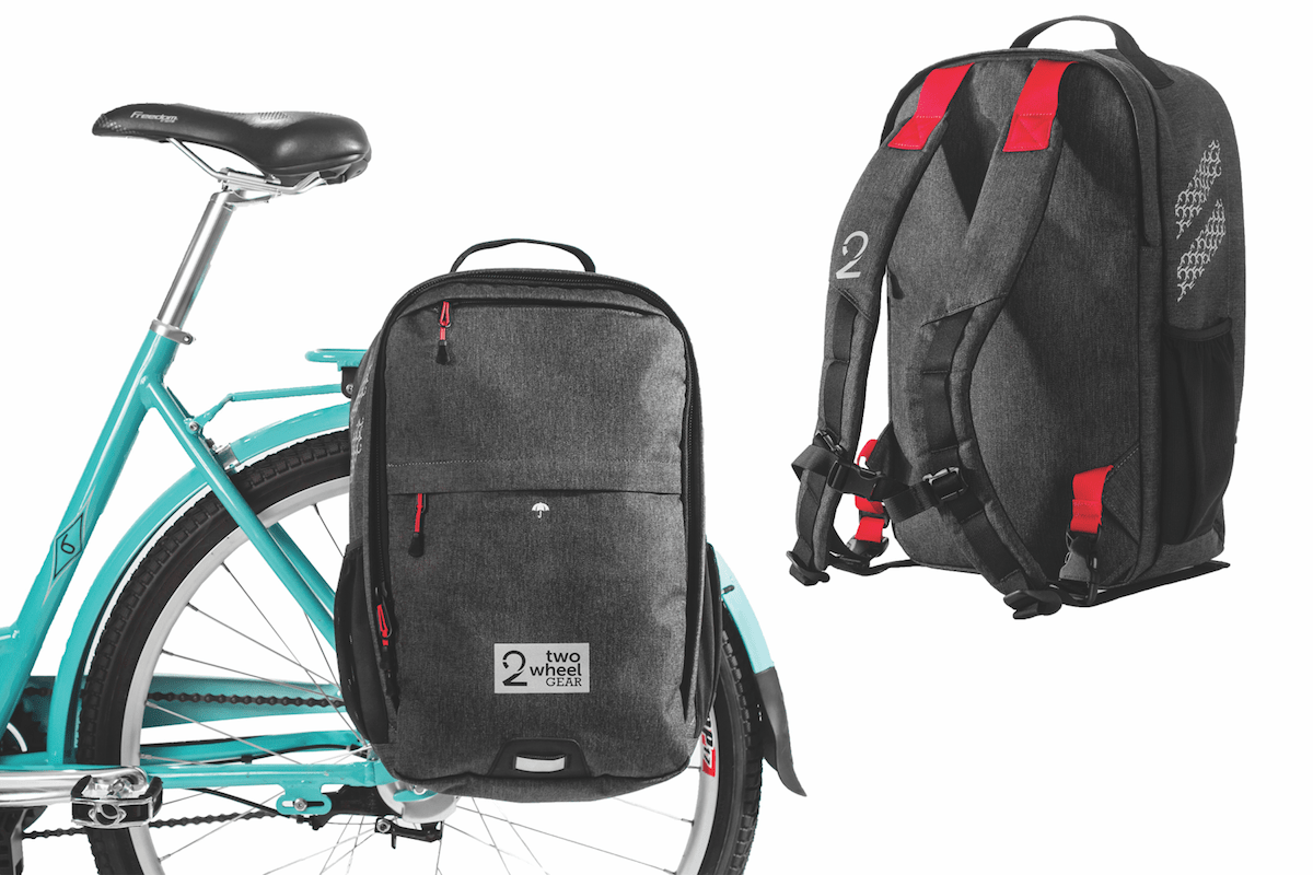 Bike to Work - Two Wheel Gear Pannier Backpack