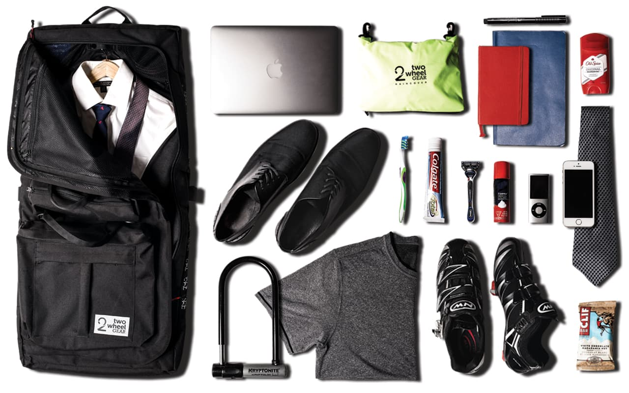 Bike to Work - What to Pack - Garment Pannier