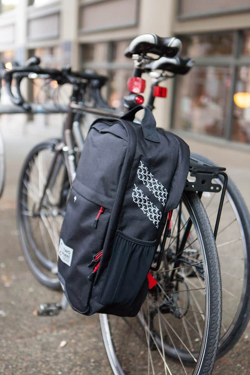 Bike to work with one pannier - Two Wheel Gear