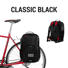Pannier Backpack Convertible - Classic Black