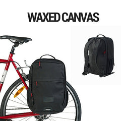 Pannier Backpack Convertible - Waxed Canvas