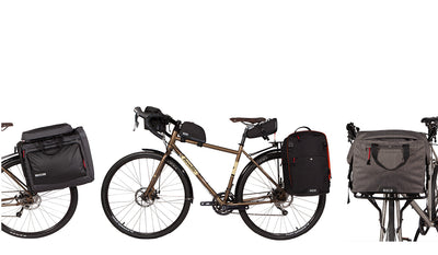 Two Wheel Gear - 2020 Bike Bags - Panniers, Suit Bags, Handlebar bags, backpacks