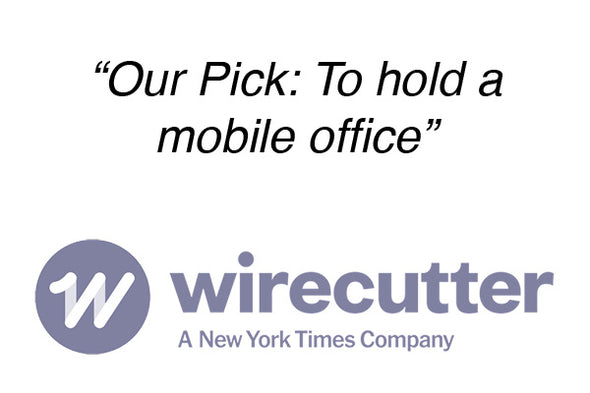 Two Wheel Gear - Wirecutter pick to hold a mobile office