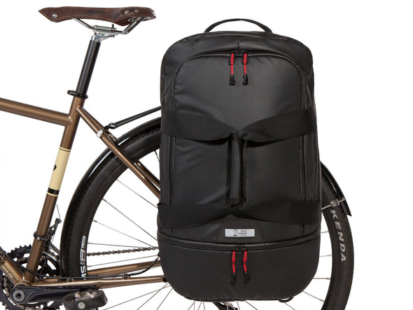 Two Wheel Gear - Pannier Duffel - Black - Bike Bag - Bike Front