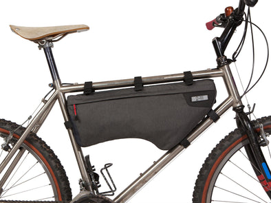 Two Wheel Gear - Bicycle Frame Bag - Large - Graphite - 6 L - Side Bike - Seat Post