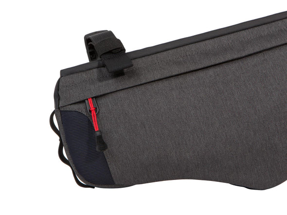 Two Wheel Gear - Bicycle Frame Bag - Graphite - 3.5 L - Reflective